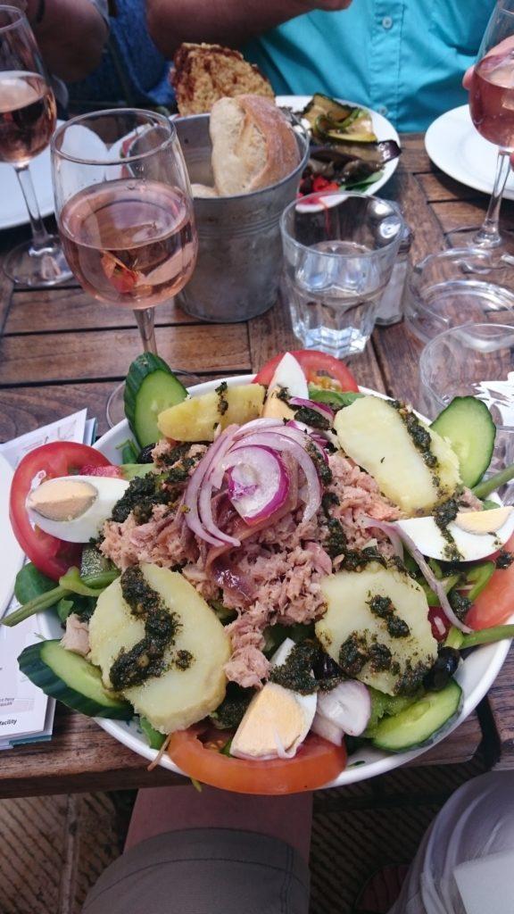 Nizzan salaatti Aix-en-